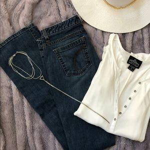Calvin Klein jeans bootcut size 26/2 🤠💙